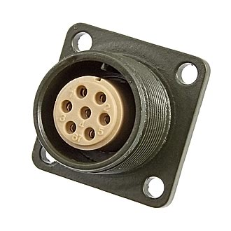 Разъем XM16-7pin*1mm block socket