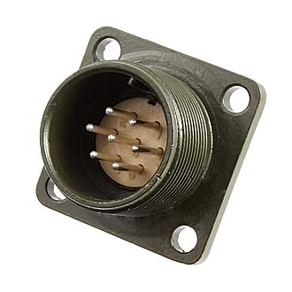 Разъем XM16-7pin*1mm block plug